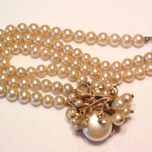 Old Fancy Pearl Bracelet