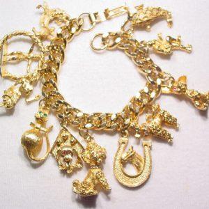 1966 HOBCO Charm Bracelet