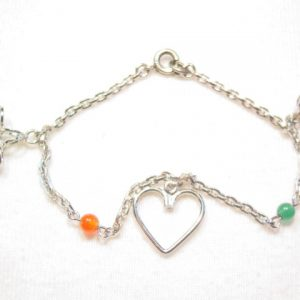 Delicate Three-Charms Bracelet