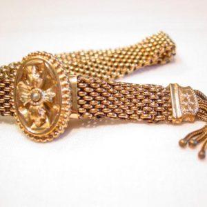 Old Mesh Slide Bracelet