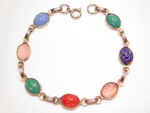 Small Scarab Bracelet