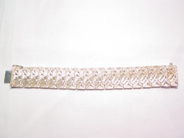 Sterling Modernist Heavy Bracelet