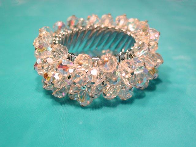 Aurora Borealis Beads Expansion Bracelet