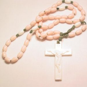 Pink Plastic Rosary
