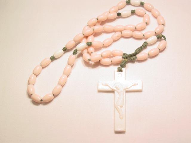 Pink Plastic Rosary