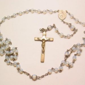 Blue Moonstone Rosary