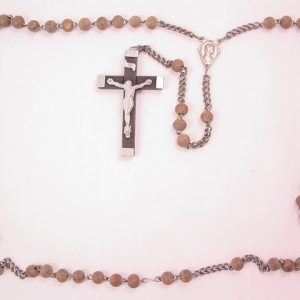 Unfinished Wooden Rosary