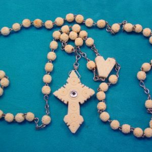 Carved Stanhope Rosary