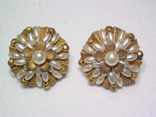 Hobe Imitation Pearl Earrings