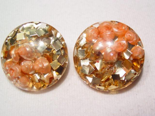 Confetti and Seashells Earrings