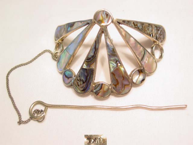 Abalone Shell Hair Ornament