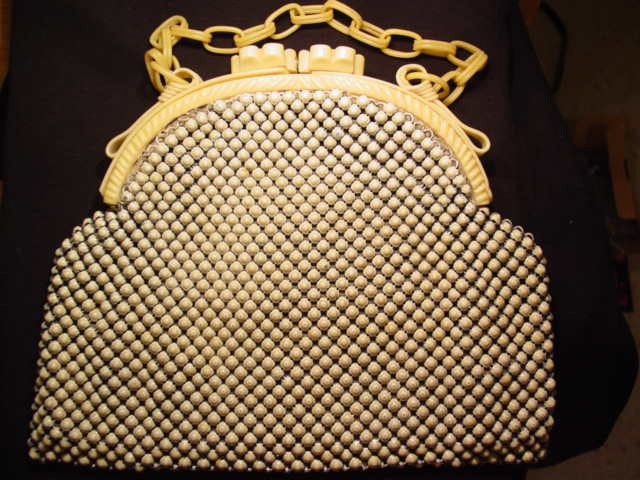 Whiting & Davis Alumesh Purse