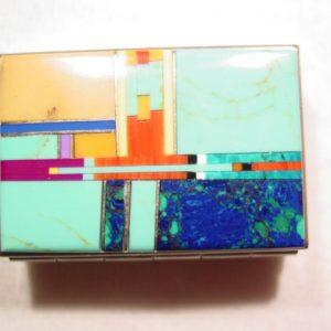 Real Stone Pill Box