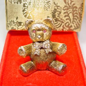Three-Dimensional Teddy Bear Perfume Sachet Figure