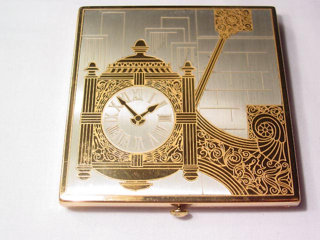 Old Marshall Fields Clock Compact