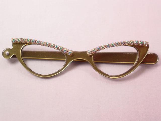 Aurora Borealis Rhinestone Magnifying/Opera Glasses