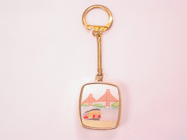 San Francisco Music Box Keychain