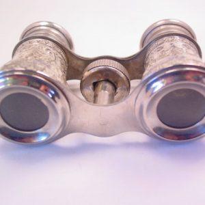 Fancy Silvertone Opera Glasses/Binoculars