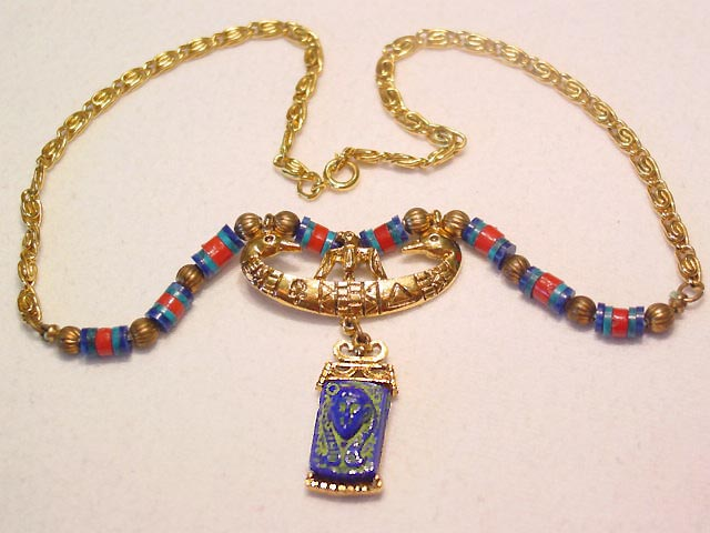 Art King Tut Necklace
