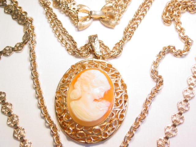 Trifari Cameo Necklace