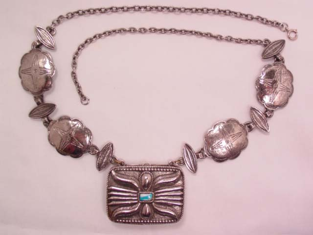 Southwestern Estee Lauder Sachet Necklace