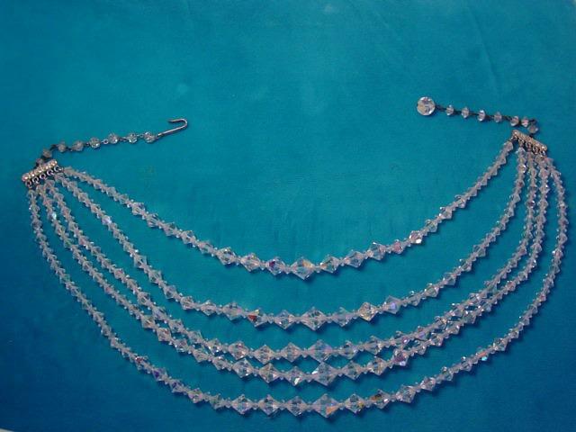 Aurora Borealis 5-Strand Necklace