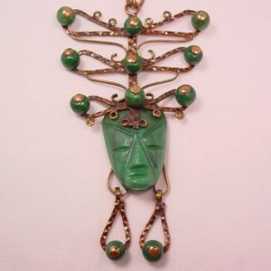 Unbelievable Mexican Face Necklace