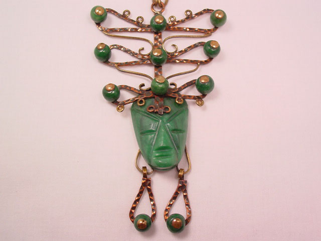 Unbelievable Mexican Face Necklace