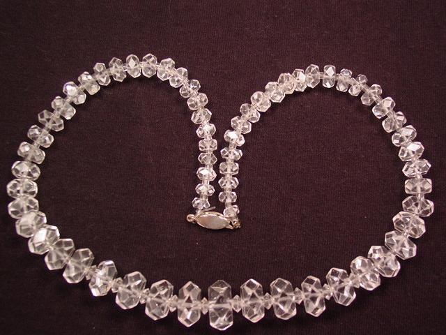 Dazzling Old Crystal Necklace