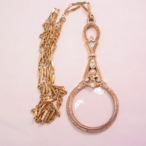 1928 Magnifying Glass Necklace