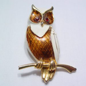 Boucher Owl Pin