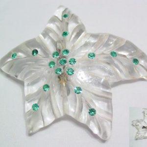 Lucite Starfish Pin