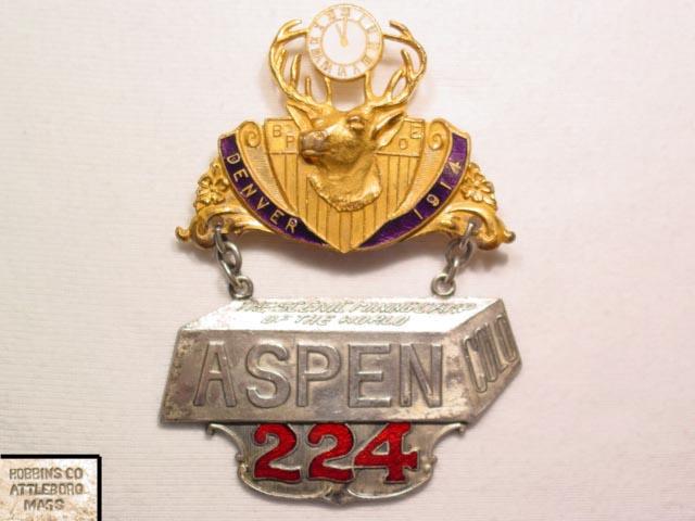 1914 Denver Elks Pin