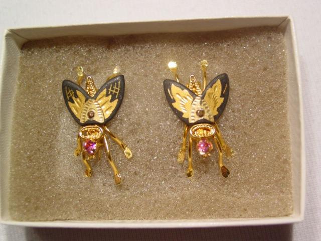 Damascene Fly Scatter Pins