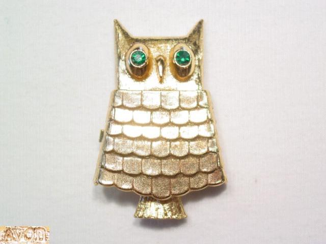 Avon Owl Sachet Pin