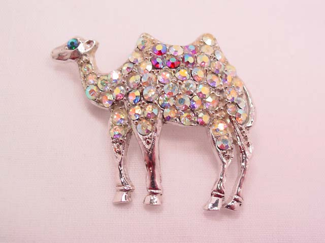 Aurora Borealis Camel Pin