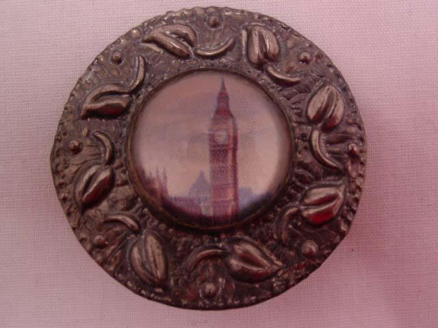 Round Big Ben Pin