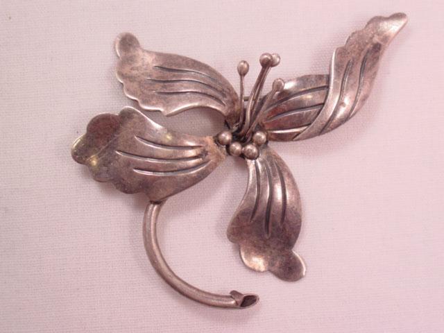 Sterling Maricela Iris Pin
