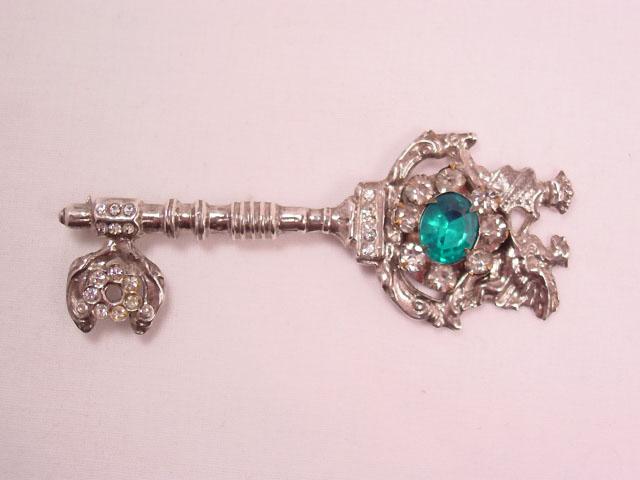 Sterling Key Pin
