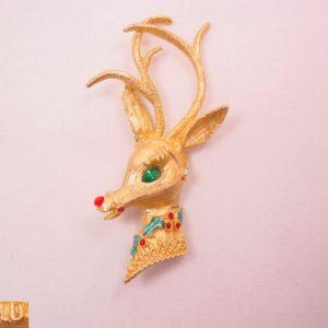 Mylu Reindeer Pin