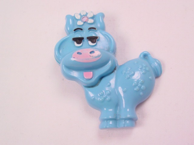 1973 Avon Blue Cow Sachet Pin
