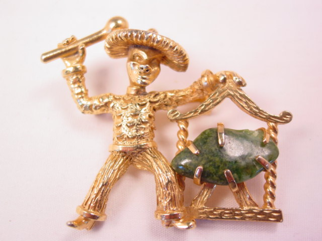 B.S.K. Chinaman with Jade Gong Pin
