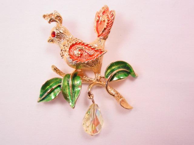 Mylu Partridge in a Pear Tree Pin